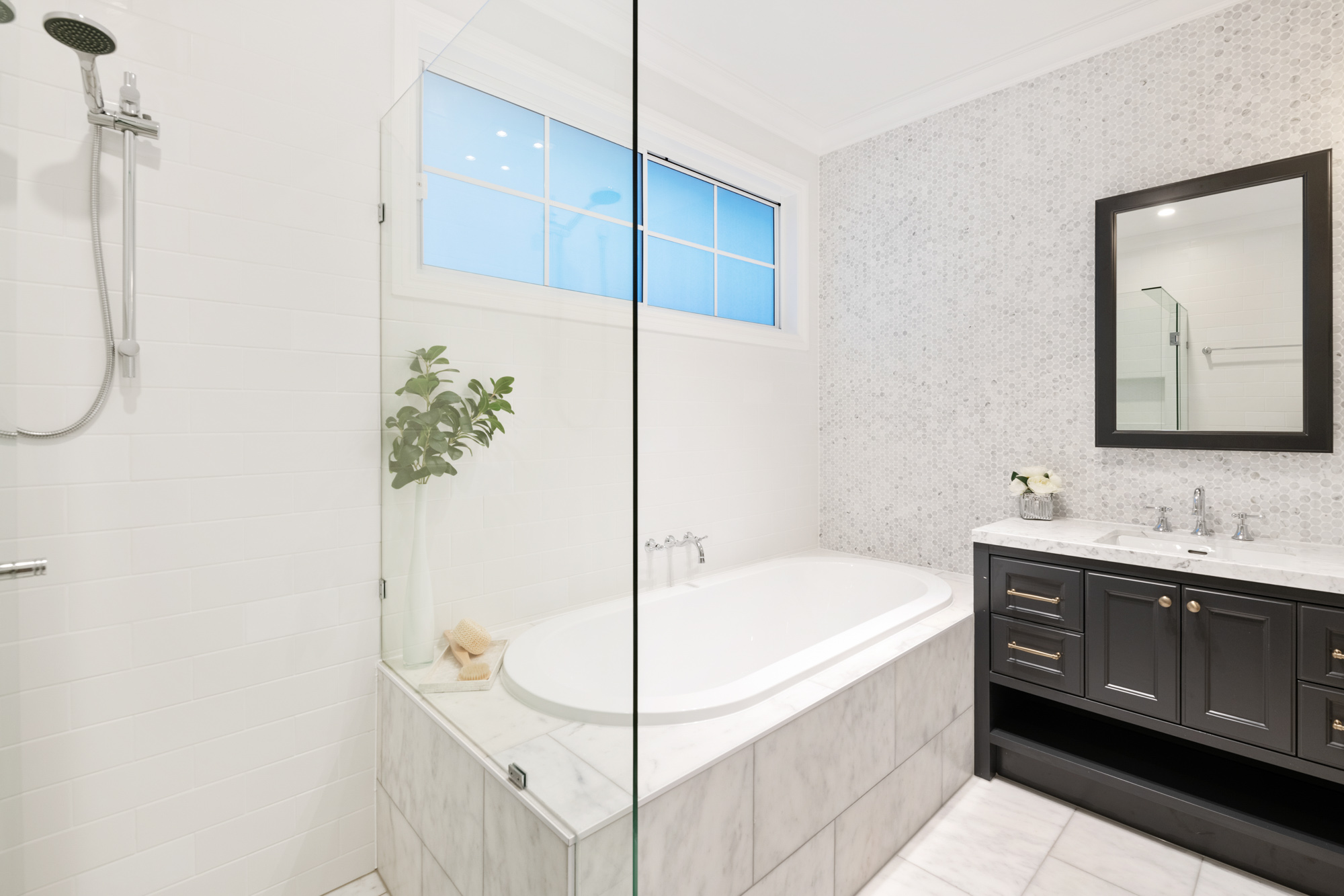 Germancraft Cabinets Sample Bathroom